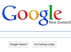 Google tops web site use in New Zealand